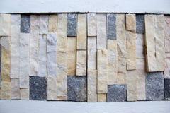 konstgjord blå ljus stenvägg arkivbilder