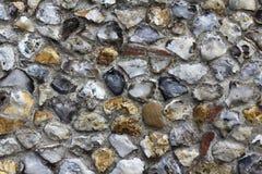 konstgjord blå ljus stenvägg Royaltyfri Fotografi