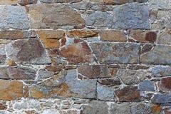 konstgjord blå ljus stenvägg Royaltyfri Bild