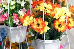 Konstgjord blomma Arkivfoton