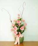 Konstgjord blomma för garnering fotografering för bildbyråer
