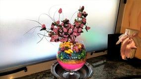 konstgjord dekorativ blomma Fotografering för Bildbyråer