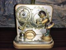 Konstgjord grammofon royaltyfri fotografi