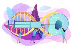 Konstgjord illustration för reproduktionsbegreppsvektor stock illustrationer