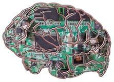 konstgjord intelligens stock illustrationer