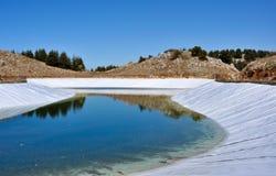 konstgjord lake 0027 Arkivfoton