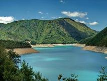 konstgjord lake Fotografering för Bildbyråer