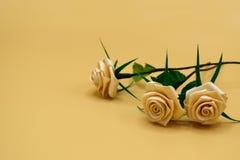 Konstgjord Rose02 Royaltyfria Bilder