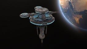 konstgjord satellit Royaltyfri Foto
