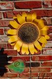 konstgjord solros Royaltyfria Bilder