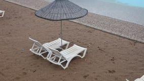 konstgjord strand Arkivfoto