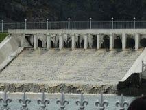 konstgjord vattenfall Arkivfoto