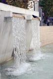 konstgjord vattenfall för springbrunn 5868 Arkivbilder