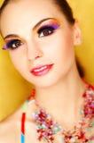 konstgjorda ögonfranser Royaltyfri Fotografi