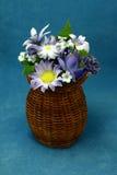 konstgjorda blommor Arkivfoto