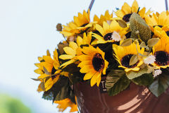 Konstgjorda blommor Arkivbilder
