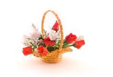 konstgjorda blommor för ordning Arkivbild