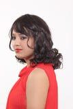 Konstgjorda hår för kvinnahårstilar royaltyfri fotografi