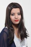 Konstgjorda hår för kvinnahårstilar arkivbilder