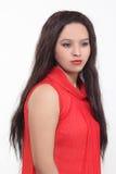 Konstgjorda hår för kvinnahårstilar royaltyfria bilder