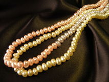 Konstgjorda pärlor Fotografering för Bildbyråer