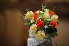 Konstgjorda rosetter Arkivfoto