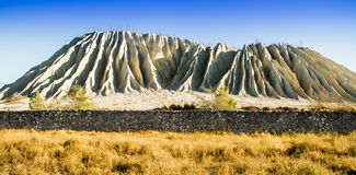 Konstgjort berg, slagheap Arkivbilder