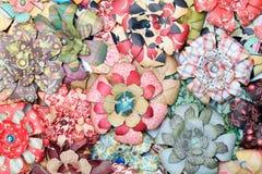 konstgjort blommapapper royaltyfri fotografi