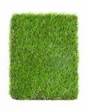 Konstgjort gräs som isoleras på vit bakgrund Royaltyfri Bild
