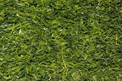 Konstgjort grönt gräs Arkivfoto