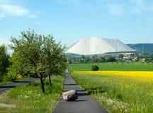 Konstgjort vitt berg Royaltyfria Bilder