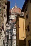 Konsthistoria och kultur i Florentine kyrkor - Florence - Ital Arkivbild