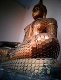 konstig buddha bild Arkivfoto