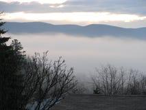 Konstig dimma Arkivbild