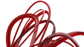 Konstiga röda exponeringsglasstrukturer och svepar vektor illustrationer