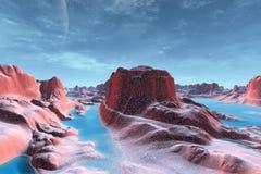 Konstigare planeter Arkivbild