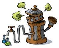 Destillation bearbetar med maskin Arkivfoto