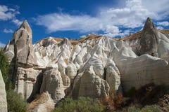 Konstigt vaggar av Cappadocia Arkivfoto