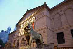 Konstinstitut av Chicago Arkivfoto