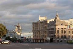 Konstitution Square in Kharkiv Stock Photo