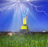 Konstitution-Tag von Ukraine Stockfotos