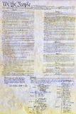 Konstitutionell lag 4th för USA Amerika juli Royaltyfri Foto