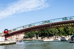 Konstitutions-Brücke Ponte-della Costituzione Stockbild