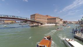 Konstitutionsbrücke timelapse stock footage