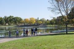 Konstitutionträdgårdar Royaltyfri Foto