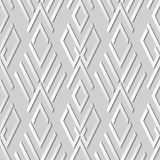 konstkontroll Diamond Cross Geometry Frame för vitbok 3D royaltyfri illustrationer