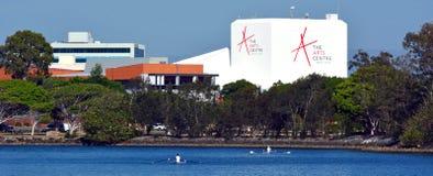 Konstmitten Gold Coast Australien Royaltyfria Foton