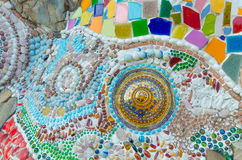Konstmosaikexponeringsglas arkivbilder