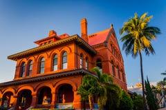 Konstmuseet & historien i Key West, Florida fotografering för bildbyråer