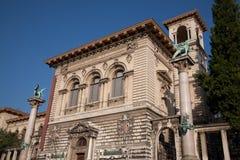 Konstmuseum; Lausanne Arkivfoto